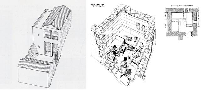 Priene Ev Rekonstrüksiyonu ve Andron