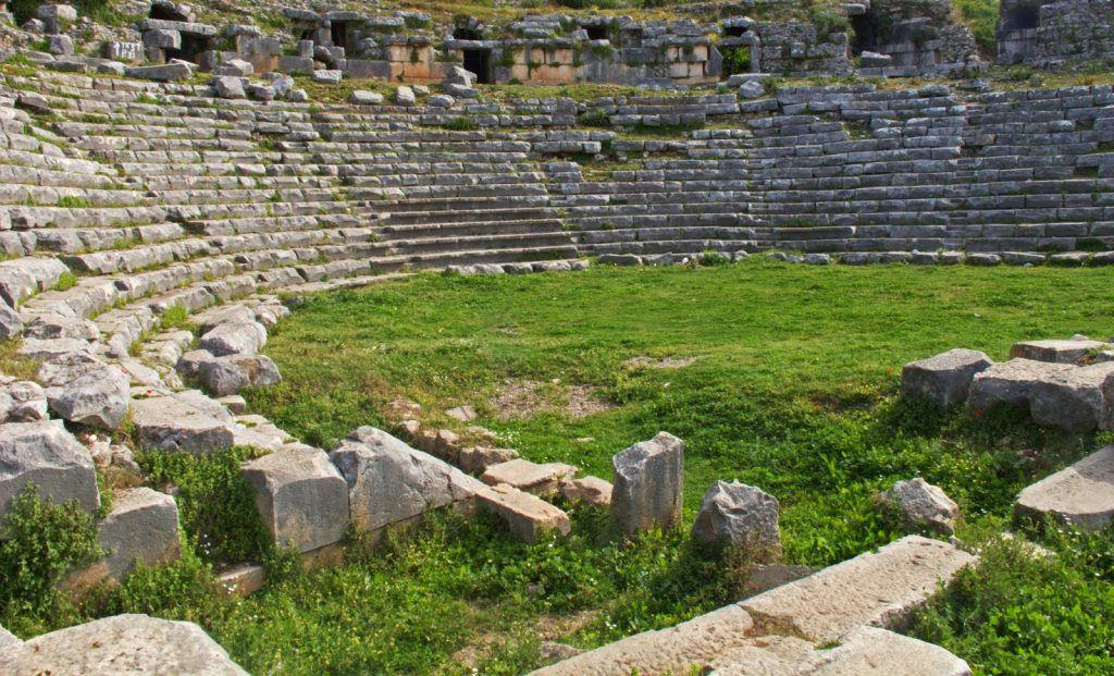 4 Limyra Tiyatrosu
