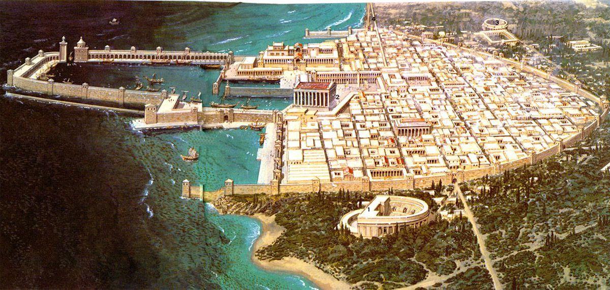 Caesarea Kentinin Rekonstrüksiyonu