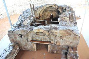 Myra'daki Şapelden Haç Figürü Çalındı