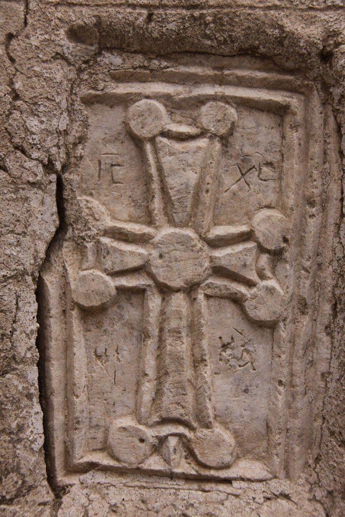 Myra'daki Şapelden Çalınan Haç Figürü