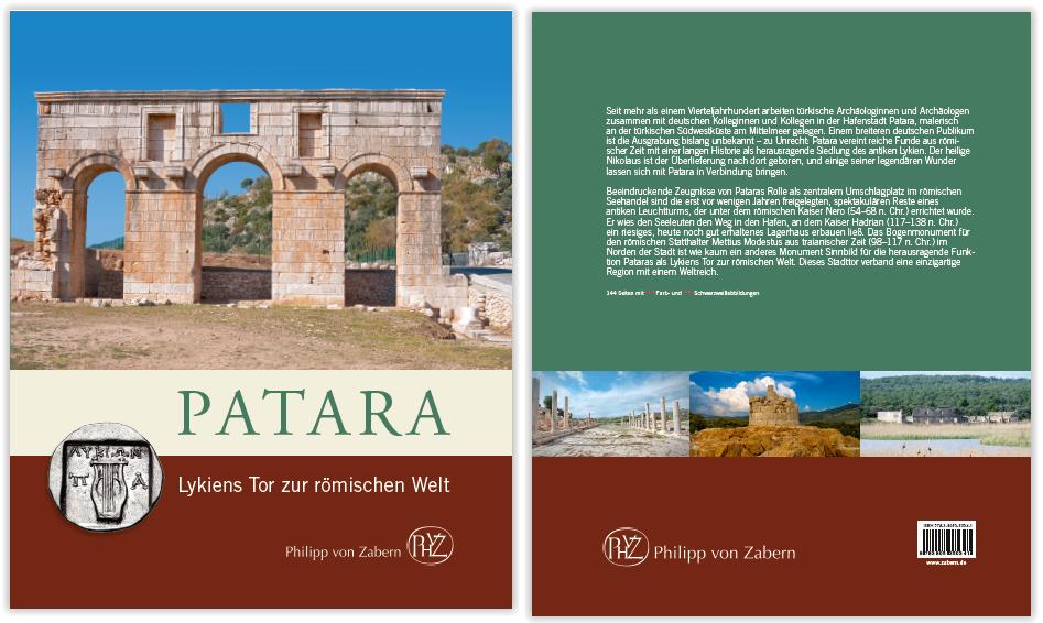Patara Lykiens Tor zur römischen Welt Kitap Kapağı
