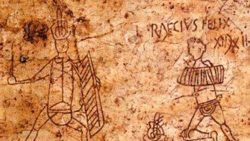 Pompeeili Gladiatör Grafitileri