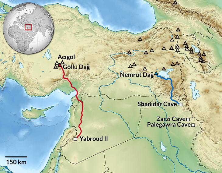Suriye'de Bulunan 40 Bin Yıllık Obsidyenin Kaynağı Anadolu