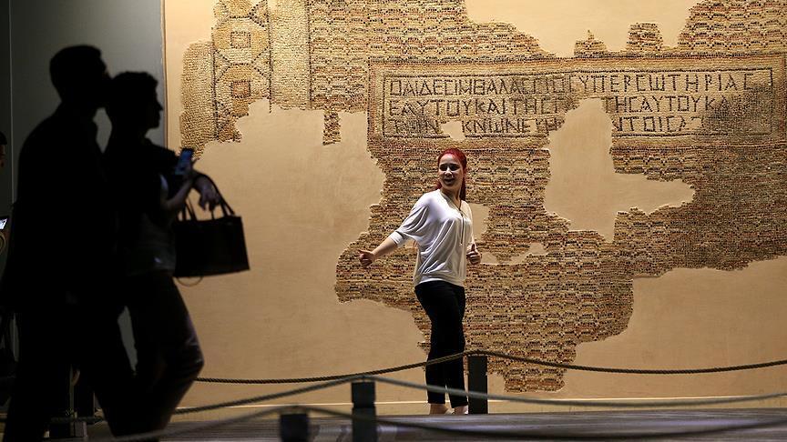 Zeugma Mozaik Müzesinden Rekor